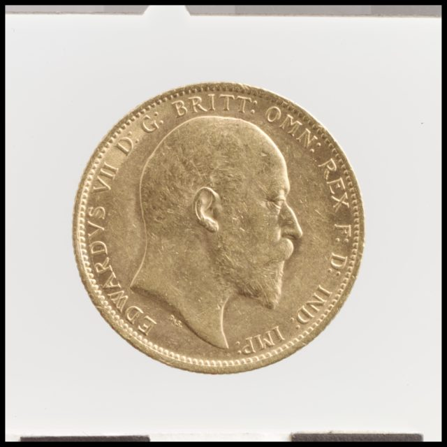 Edward VII sovereign