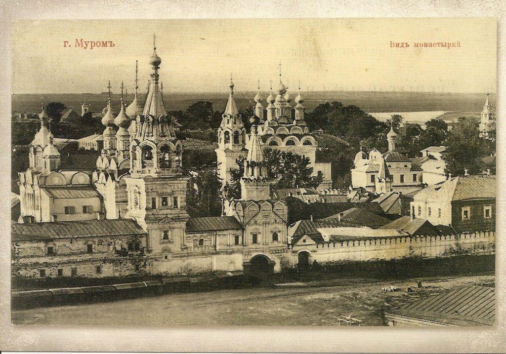 Monastery view. Murom, Vladimir Province, Russia