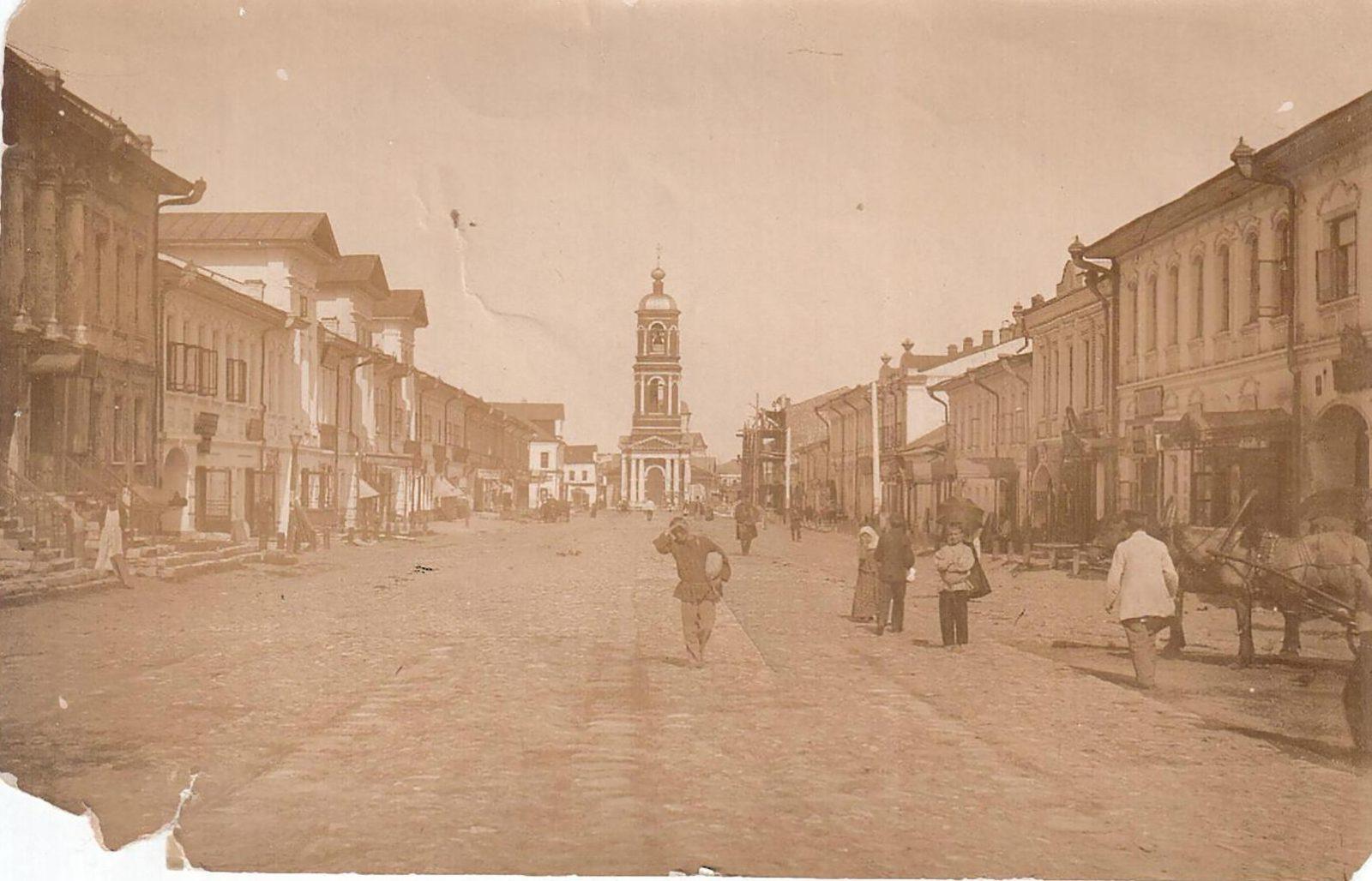 Murom, Moscow street. Московская улица.