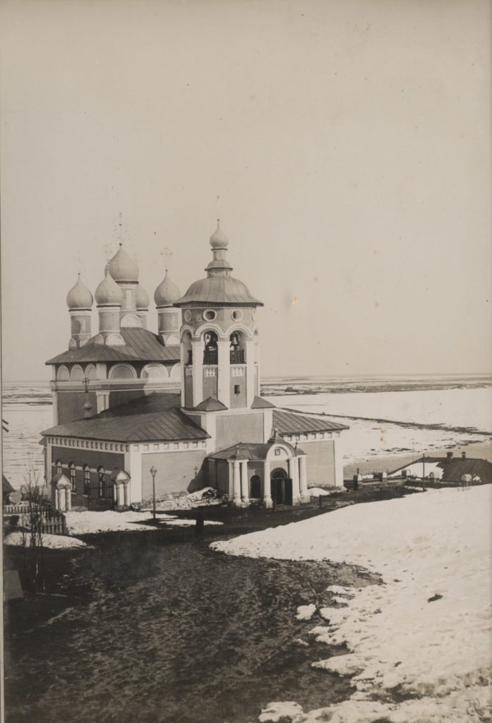 Murom, Nikolo-Quay Church. View from the west. Photo of the middle. 1890s