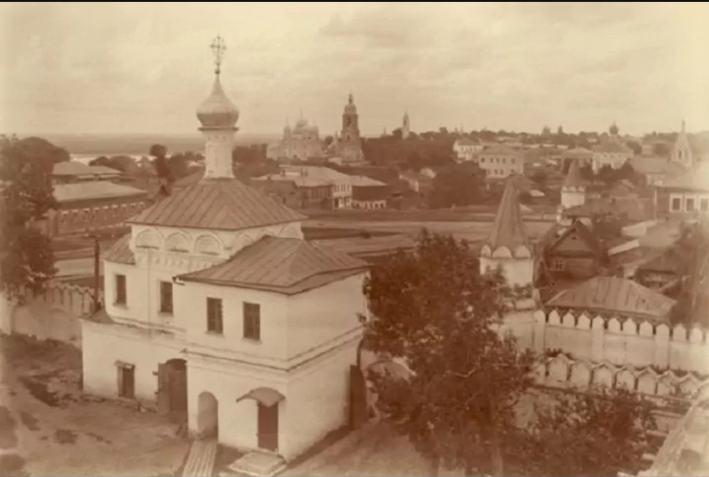 Murom, View of the city from the bell tower of the Annunciation Monastery.