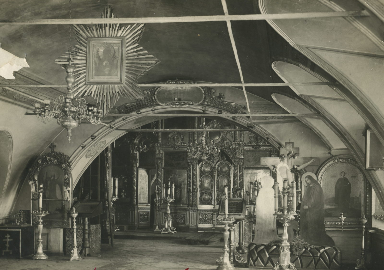 Nicholay-Mozhaisk church. Interior. Murom, Vladimir Province, Russia
