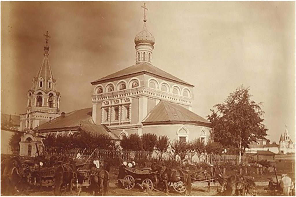 Nikolo - Zaryadskaya church.