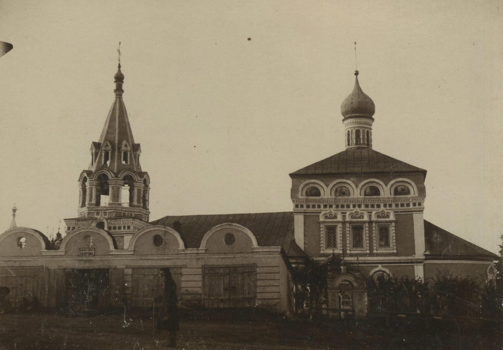Nikolo - Zaryadskaya church. Murom, Vladimir Province, Russia