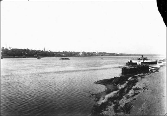 Steamboat. The Oka River. Murom, Vladimir Province, Russia