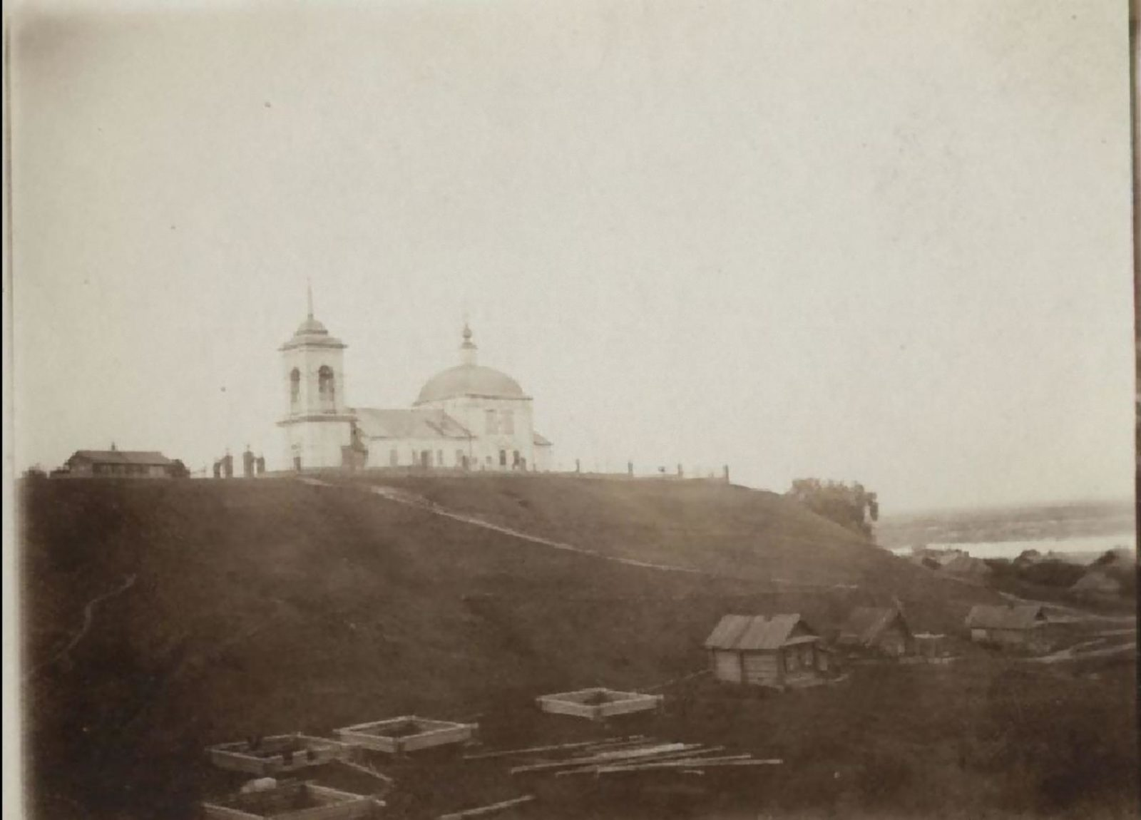 Surroundings of Murom. Yakimanskaya Sloboda. Church of Joachim and Anna.
