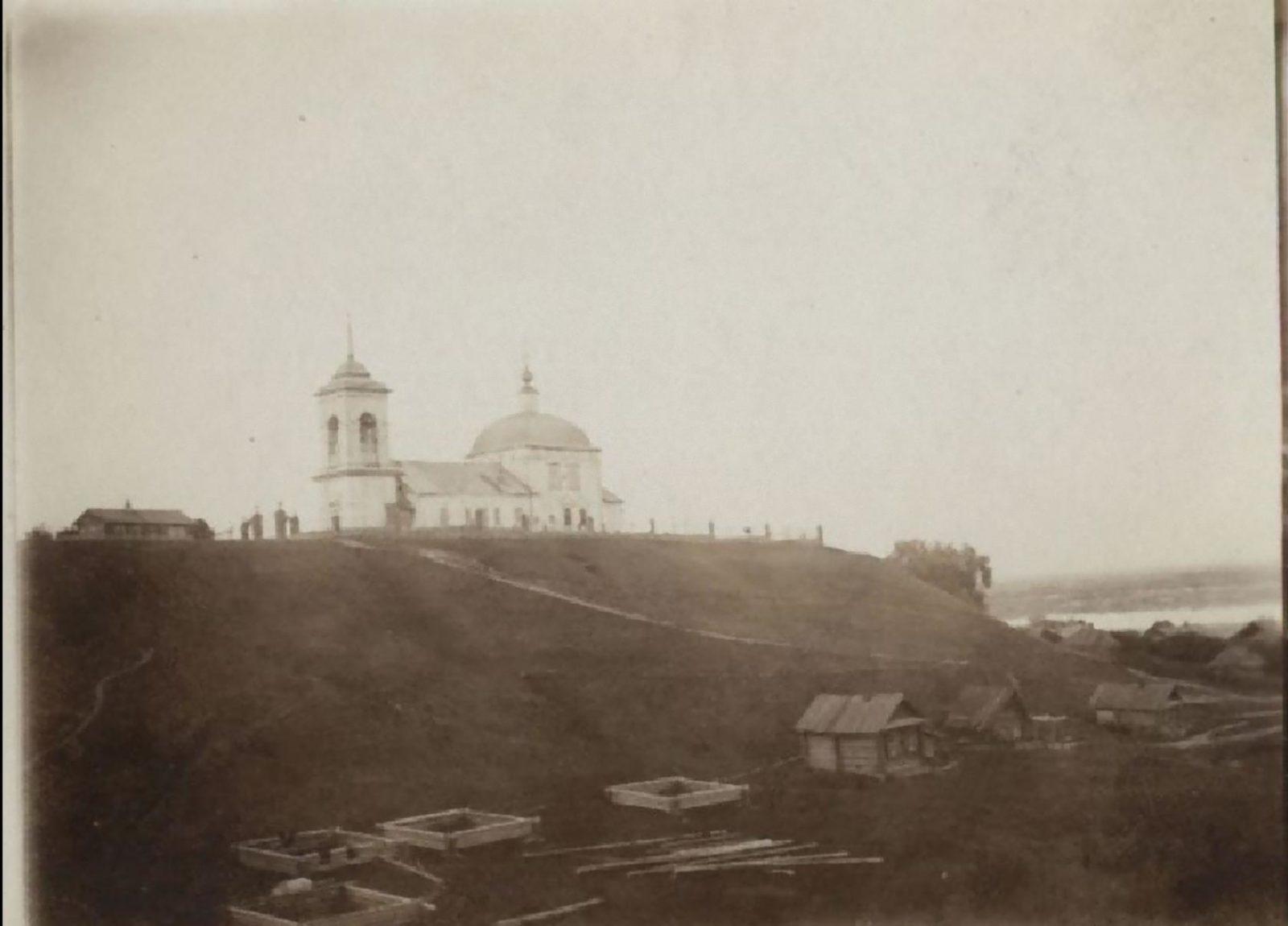 Surroundings of Murom. Yakimanskaya Sloboda. Church of Joachim and Anna.