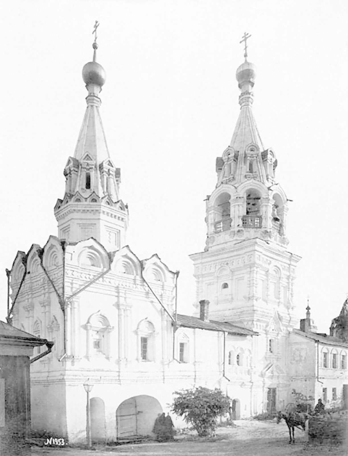 The Holy Trinity convent, Murom, Vladimir Province, Russia, 1900s