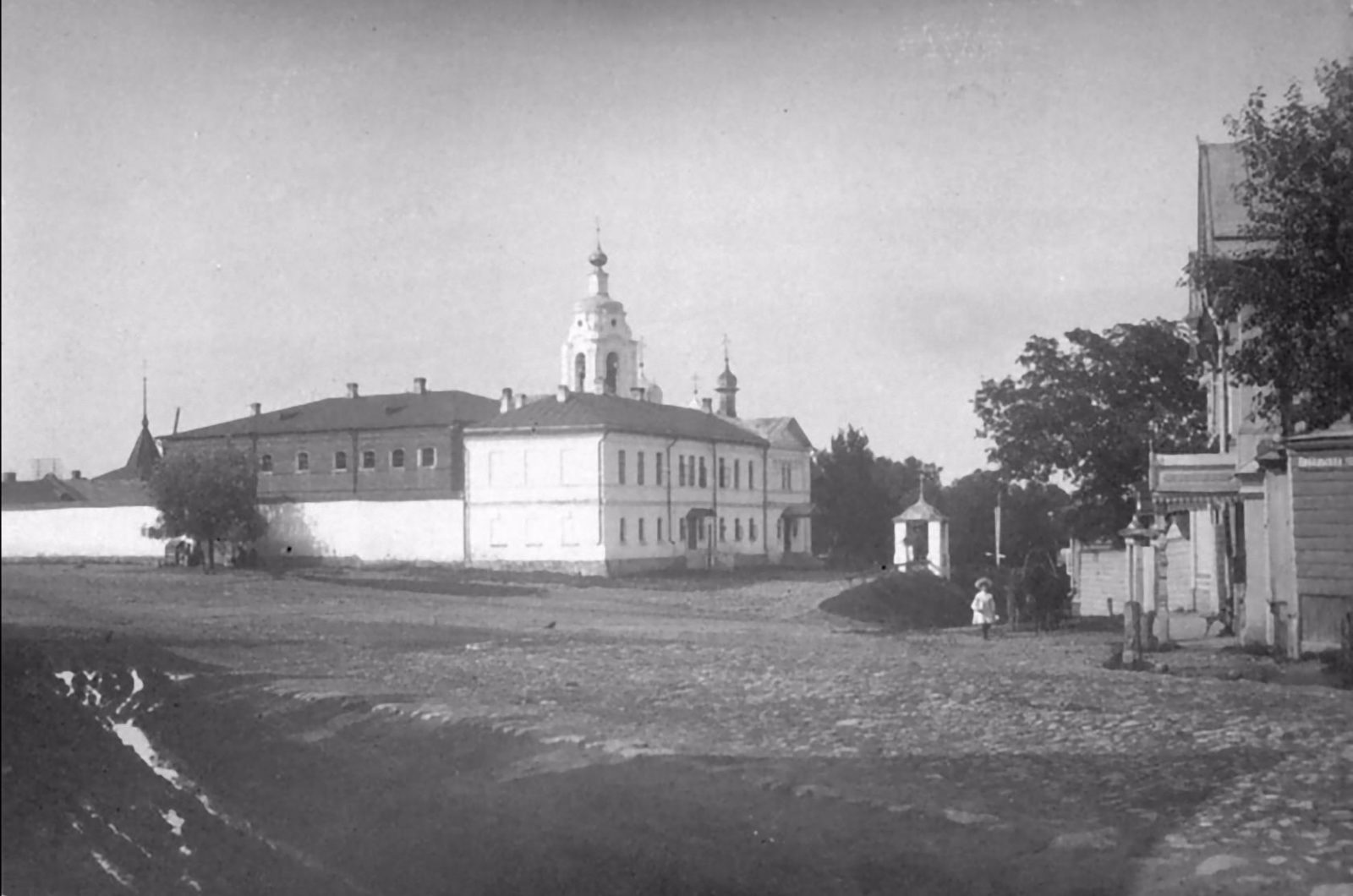 The Prison Castle and the Church of the Icon of Our Lady of Sorrows Soothe my sorrows. Murom, Vladimir Province, Russia