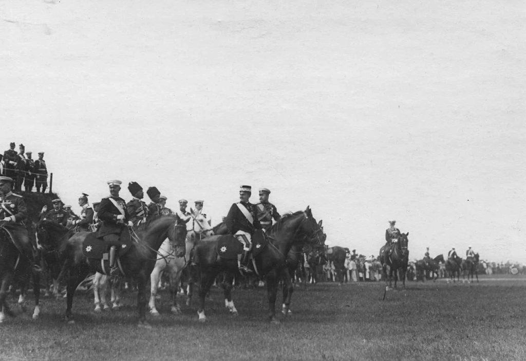 Nicholas II and Italian King Victor Emmanuel III