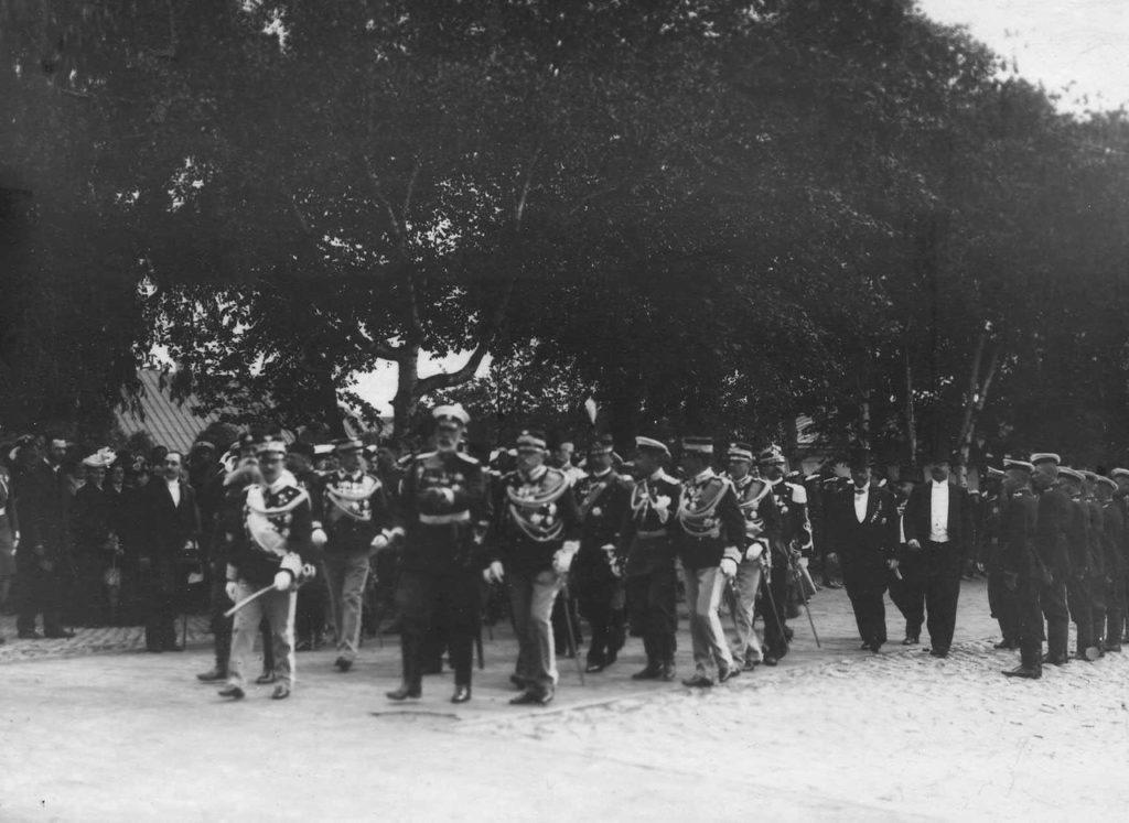 Visit of the Italian King Victor Emmanuel III to Russia, 1902.