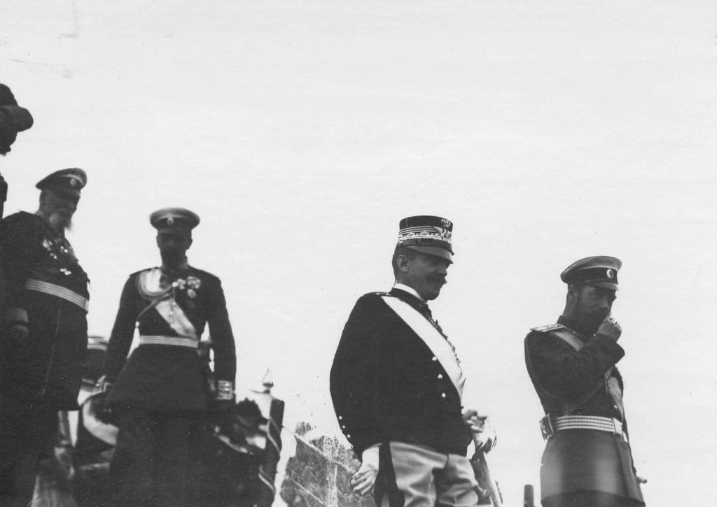 Italian King Victor Emmanuel III with Nicholas II.