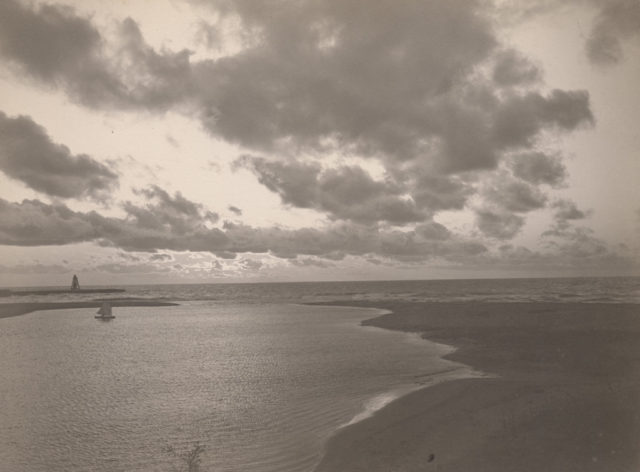 Where lake and river meet, Goderich, 1902