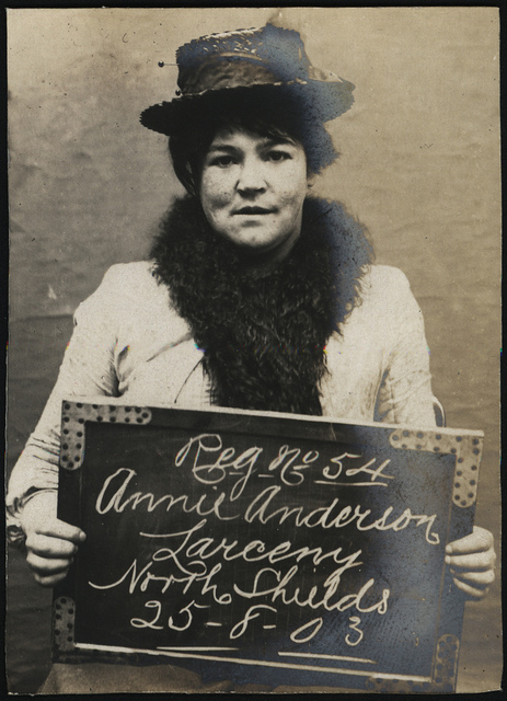 Annie Anderson, arrested for alleged theft of a watch