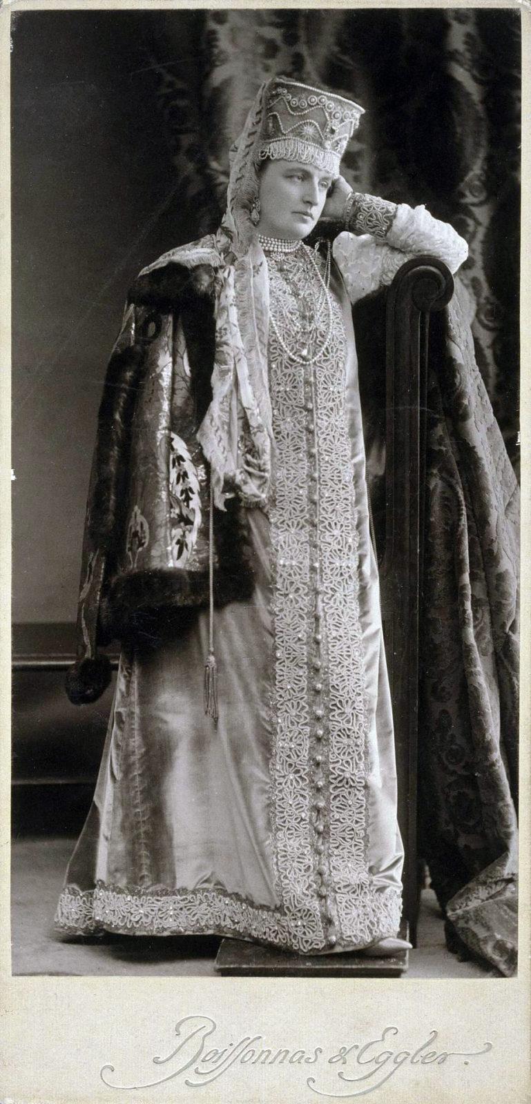 Countess Elena Mikhailovna Tolstaya, born. Chertkova (Boyaryn XVII century)