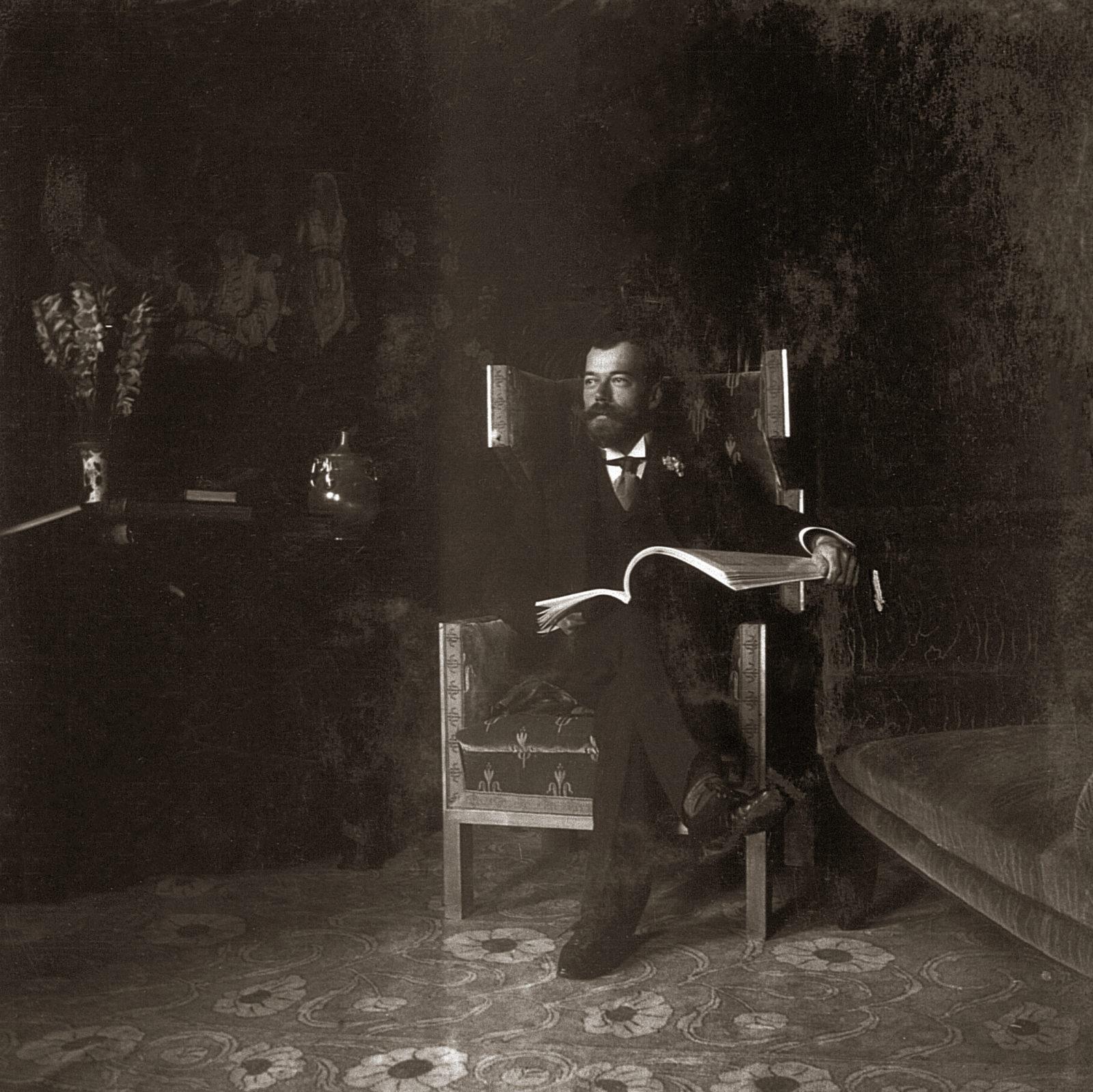 Emperor Nicholas II . 1903 .