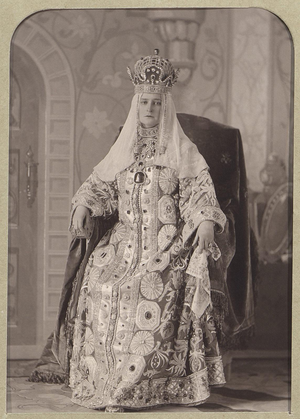 Empress Alexandra Feodorovna.1903.