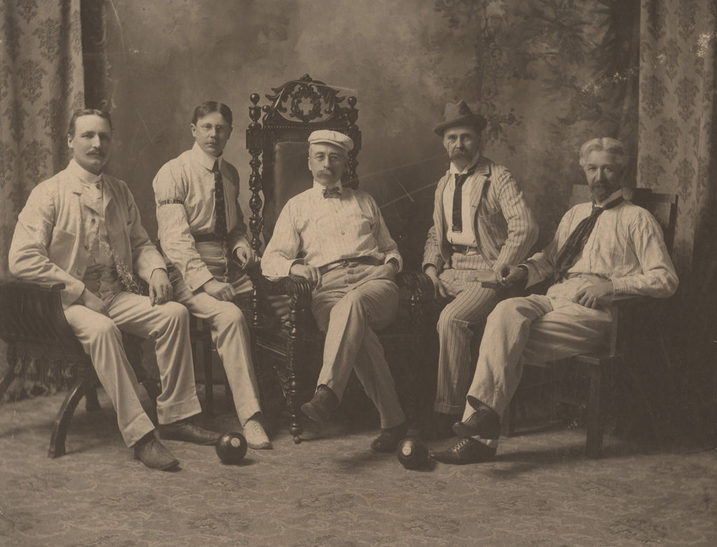 Goderich bowling club, officers for 1903