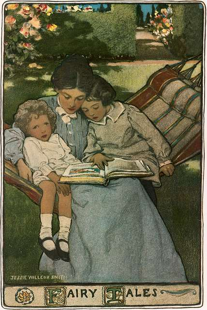 Jessie Willcox Smith 'A Mother's Days' - 'Fairy Tales' 1903