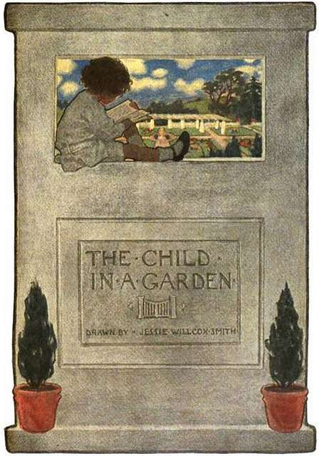 Jessie Willcox Smith 'The Child in a Garden' series Scribner's (Dec. 1903)