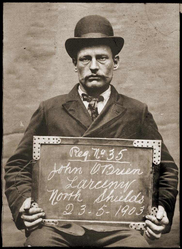 John O'Brien, fireman, arrested for stealing a waatch