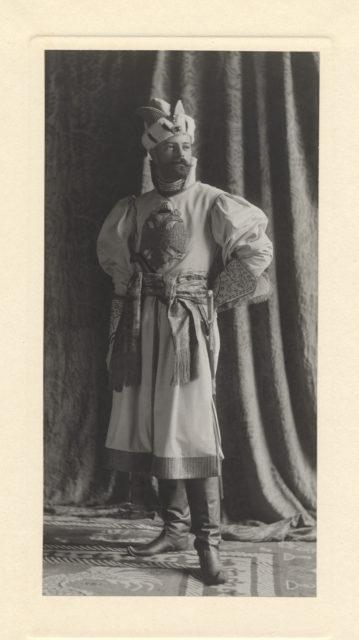 Portrait of Alexander Mikhaylovich, Russian Grand Duke
