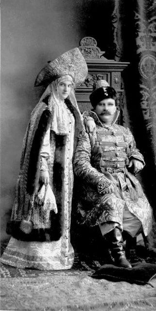 Prince Stcherbatow, Princess Stcherbatow, nee Princesse Bariatinsky