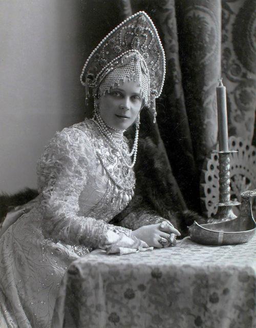 Princess Zinaida Yusupova, Countess Sumarokova-Elston, born. Princess Yusupova (Boyarynya XVII century)