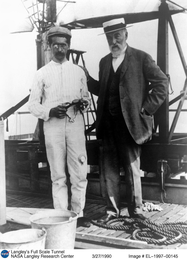 Samuel Pierpont Langley and Charles M. Manly