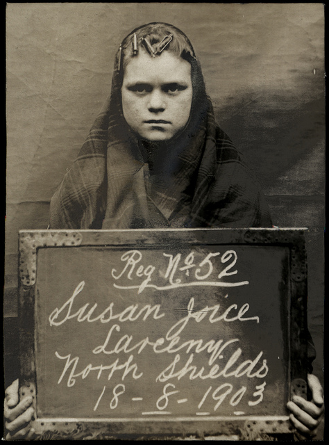 Susan Joice, arrested for stealing money from a gas meter