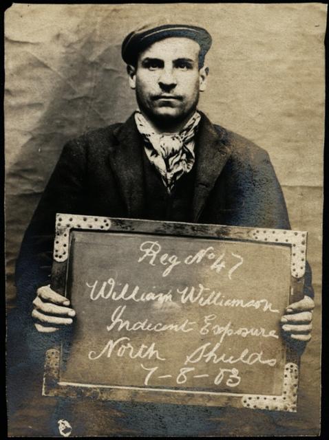 William Williamson, arrested for indecent exposure