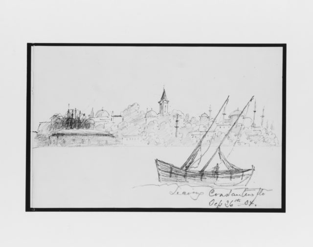 Leaving Constantinople (from Sketchbook)