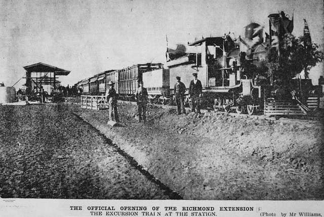 StateLibQld 2 202091 Official opening of the Hughenden to Richmond railway line, 1904