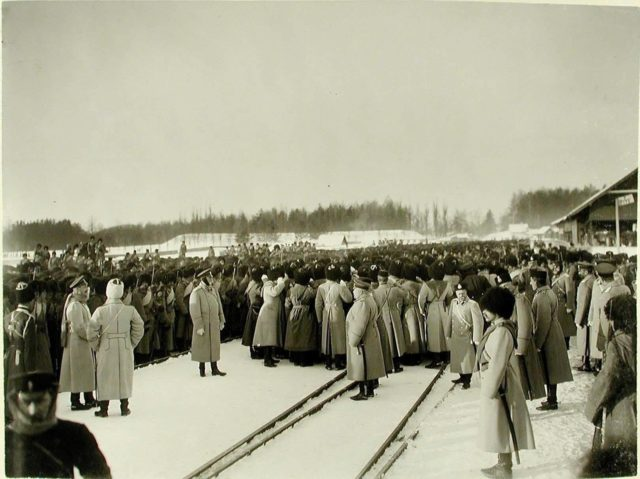 Berezina. The trip of Emperor Nicholas II to the west of the Russian Empire.