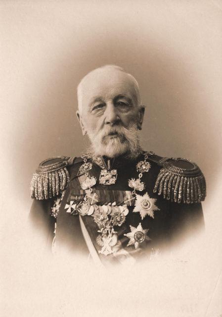 Ganetsky Nikolai Stepanovich - Russian general from infantry