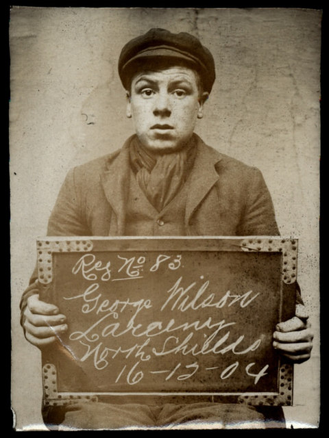 George Wilson, arrested for stealing from his father