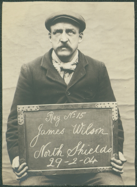 James Wilson, arrested for an alleged theft