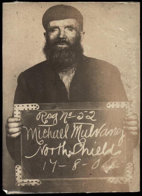 Michael Mulvaney, arrested for drunkenness and begging