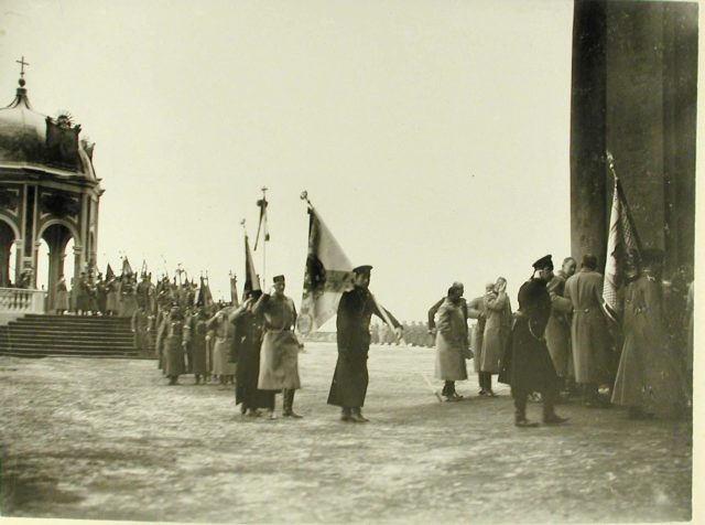 The Epiphany Day in St. Petersburg. January 6, 1904.