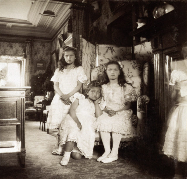 The Grand Duchesses Olga, Tatiana, Maria, Anastasia