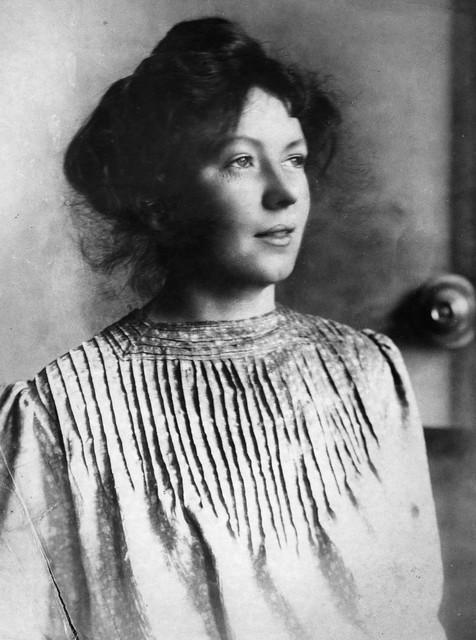 Christabel Pankhurst, c.1905-1910.