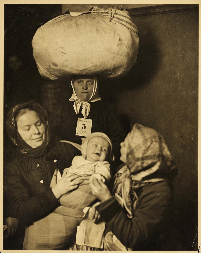 Ellis Island Immigrant Portraits