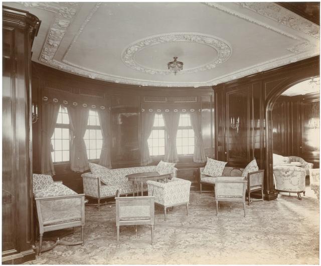 [First class lounge, Lusitania]