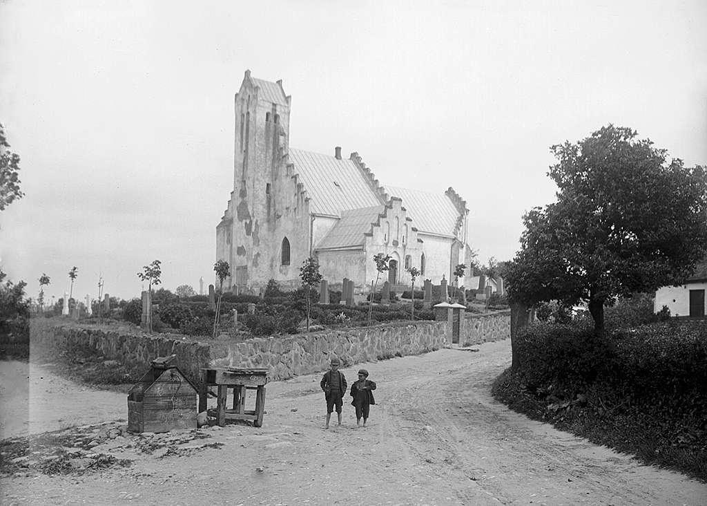 Fru Alstad Church, Skåne, Sweden