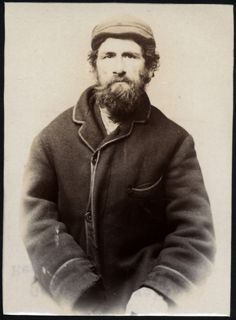 George H. Revell, tramp, arrested for being drunk and disorderly