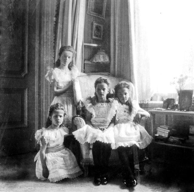 Grand Duchesses Olga, Tatiana, Maria, Anastasia