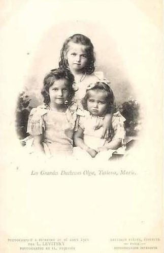 Grand Duchesses Olga, Tatjana and Maria of Russia
