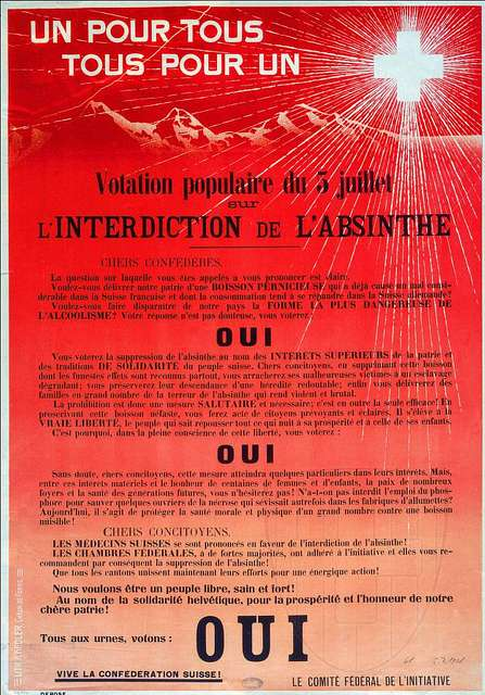 Interdiction absinthe 1905