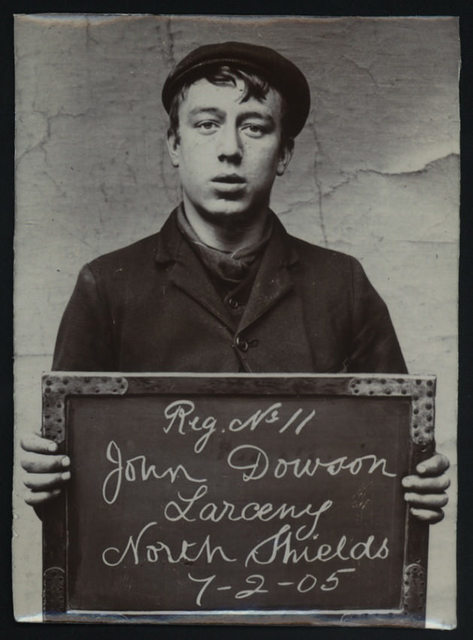 John Dowson, arrested for stealing from a gas meter