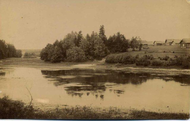 Kirzhach, Russia -  Kirzhach River